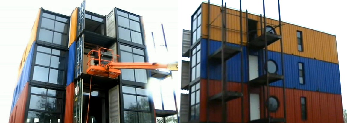 My conex home building my conex home Container appartement