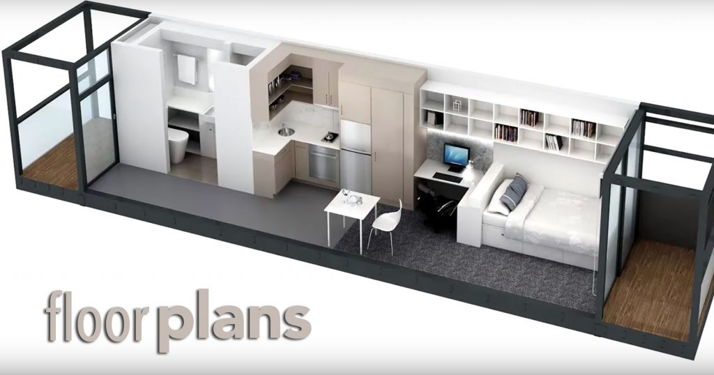 Shipping Container Home Floor Plans And Design Ideas My Conex Home